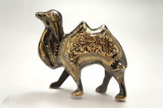 手彫り真鍮像 ラクダ 小サイズ