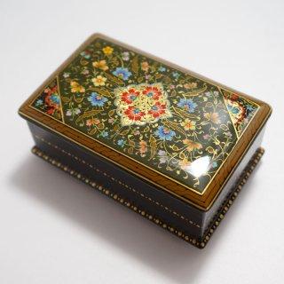 ウズベキスタン細密画木箱 中-01