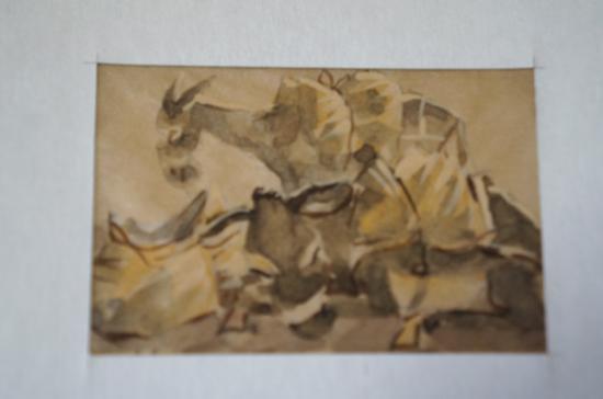 サマルカンドペーパー絵画 小サイズ-02
