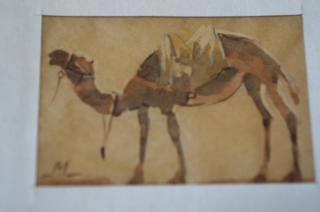 サマルカンドペーパー絵画 小サイズ-05