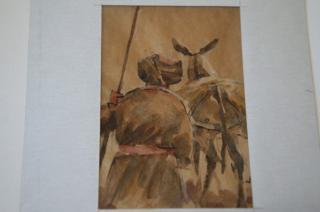 サマルカンドペーパー絵画 小サイズ-06