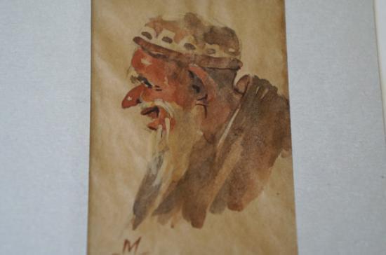 サマルカンドペーパー絵画 小サイズ-11
