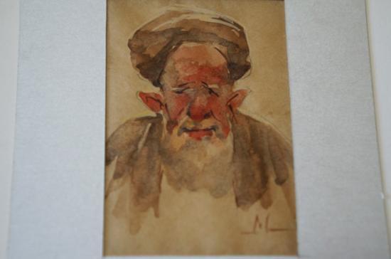 サマルカンドペーパー絵画 小サイズ-12