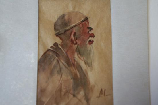 サマルカンドペーパー絵画 小サイズ-15