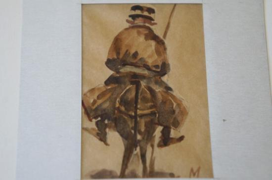 サマルカンドペーパー絵画 小サイズ-16