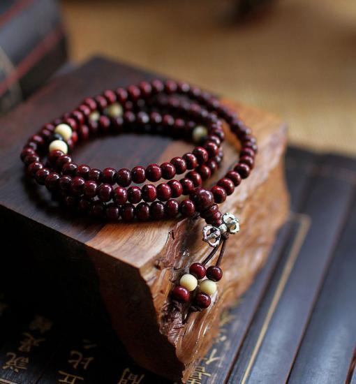 紅壇木数珠ブレスレット