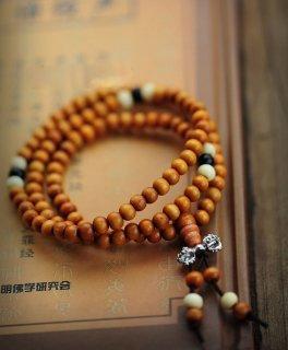 黄壇木数珠ブレスレット