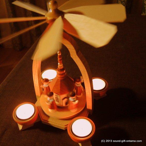 ウィンドミル・聖夜の教会 DR1282/43TL 伝統のクリスマス飾り・北欧の人形