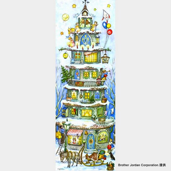 アドベントカレンダー・クリスマスキャッスル RS559 ドイツのアドベントカレンダー