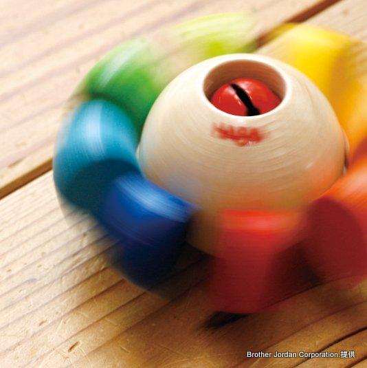 ラトル・カラーフラワー HA3251 にぎるおもちゃ