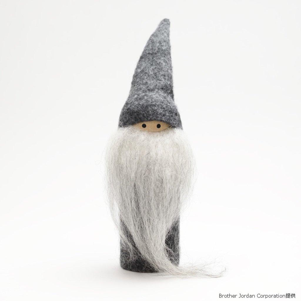 ホルツサンタ・グレー・ボーイ SP4616504 伝統のクリスマス飾り・北欧の人形