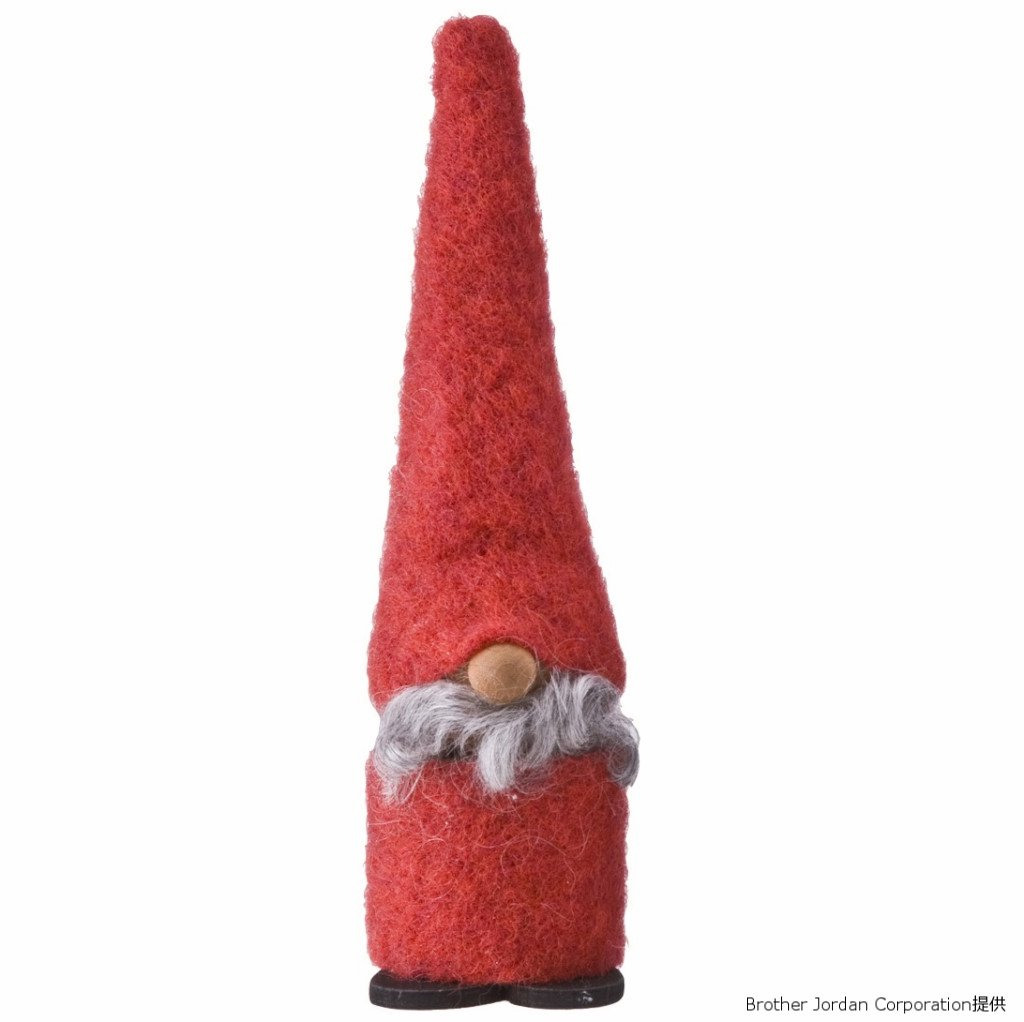 フェルツトムテ・大・レッド SP6230R 伝統のクリスマス飾り・北欧の人形