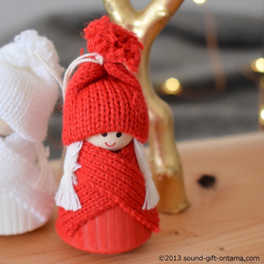 スウィングニッセ・レッド SP46546R 伝統のクリスマス飾り・北欧の人形