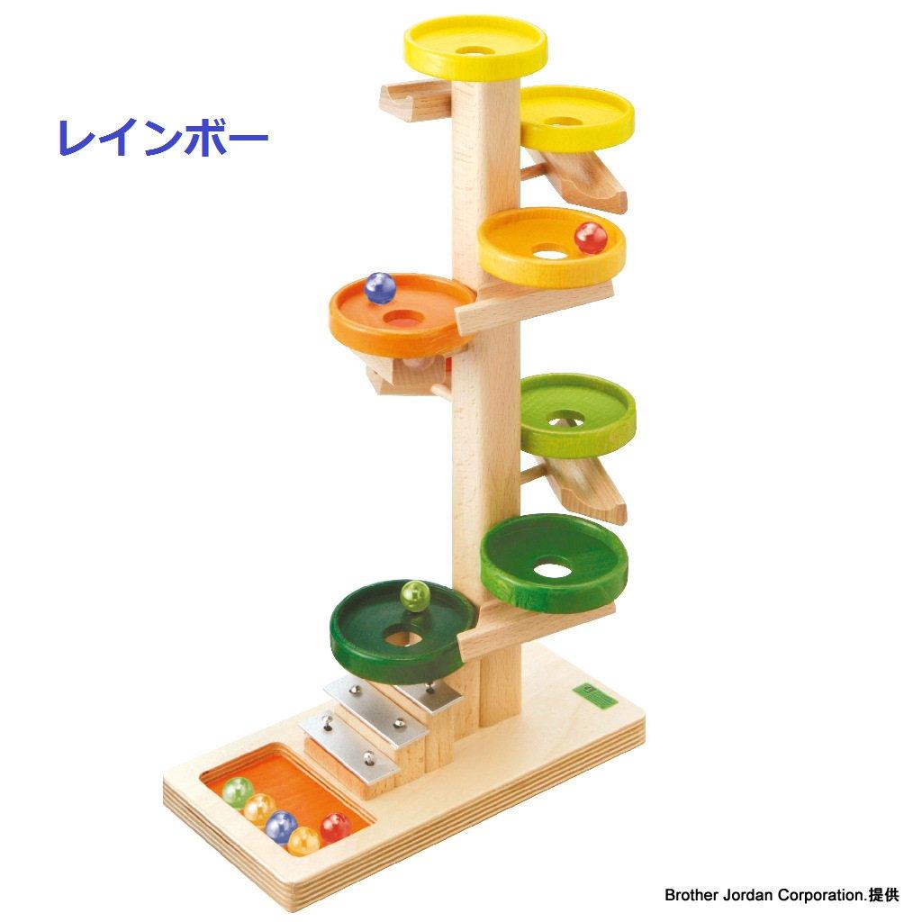 BECK トレイクーゲルタワー・レインボー BE20030R 転がして遊ぶおもちゃ