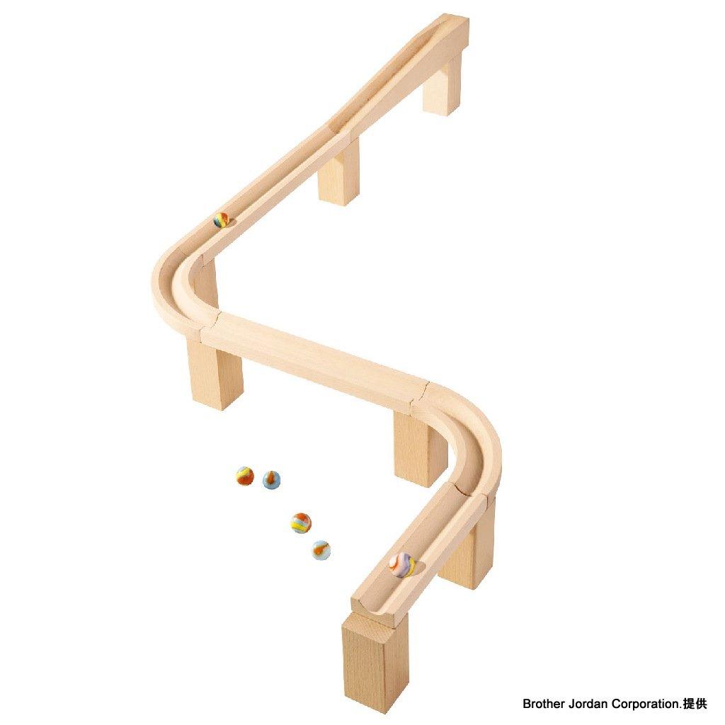 水平レーンセット HA3527 転がして遊ぶおもちゃ