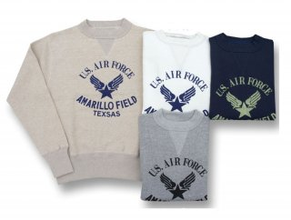 26901P U.S.AIR FORCE PRINT SWEAT