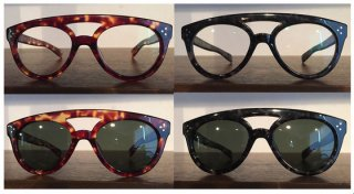 29073 50's MODEL TEADROP SUNGLASSES