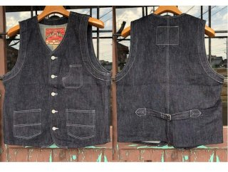 21892 10oz DENIM WORK VEST