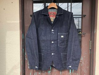 <img class='new_mark_img1' src='https://img.shop-pro.jp/img/new/icons53.gif' style='border:none;display:inline;margin:0px;padding:0px;width:auto;' />21894 10oz DENIM COVER ALL JACKET
