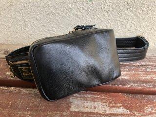 29115 LEATHER SHOULDER BAG SMALL -PLAIN-