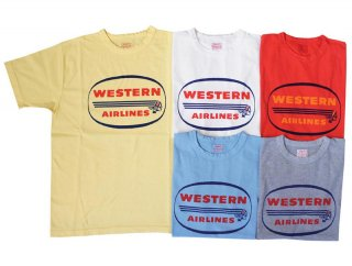 26203 RECYCLE COTTON T (WESTERN AIRLINES)