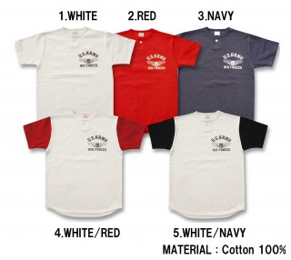 <img class='new_mark_img1' src='https://img.shop-pro.jp/img/new/icons15.gif' style='border:none;display:inline;margin:0px;padding:0px;width:auto;' />26634 ONE BUTTON HENLEY TEE (U.S.A.A.F.)