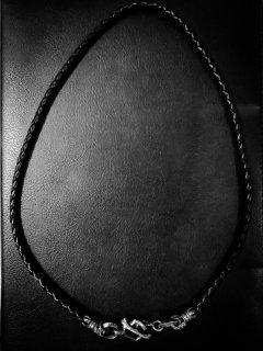 「skull Leather straps」