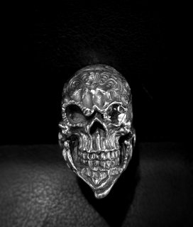 ☆「Beard skull」by custom jinny's + stone eye