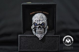 ☆「Beard skull」by custom jinny's w 義眼