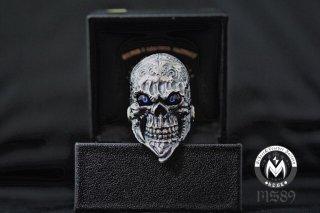 ☆「Beard skull」by custom jinny's w 義眼