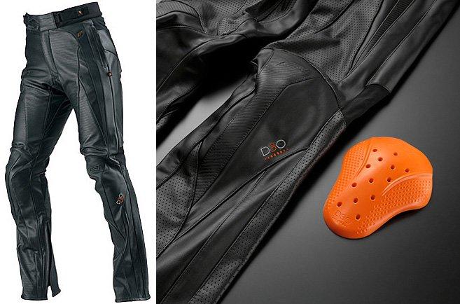 HYOD HSP018D ST-X D3O MESH LEATHER PANTS(STRAIGHT)ブラック