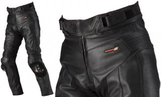 HYOD HSP007 ST-X LEATHER PANTS(BOOTS-OUT)ブラック