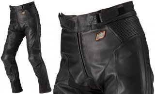 HYOD HSP004D ST-X LEATHER PANTS(BOOTS-OUT)ブラック