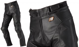 HYOD HSP003N ST-X LEATHER PANTS(BOOTS-OUT)ブラック