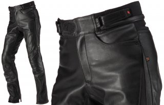 HYOD HSP008D ST-X LEATHER PANTS(STRAIGHT)ブラック