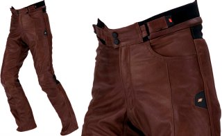 HYOD HSP005 ST-X LEATHER PANTS(STRAIGHT)ブラウン