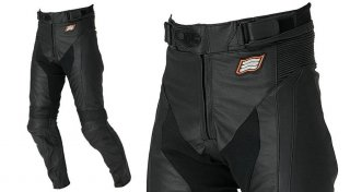 HYOD HSP002 ST-X LEATHER PANTS(BOOTS-IN)ブラック