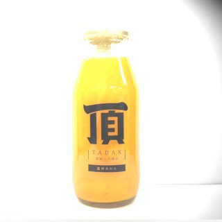 頂‐みかん‐プレミアム小瓶180ml【三代目みかん職人】