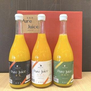 Pure Juice3本セット720ml×3【森農園】