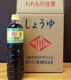 カワイシ醤油 淡口/濃口  1L×6本セット