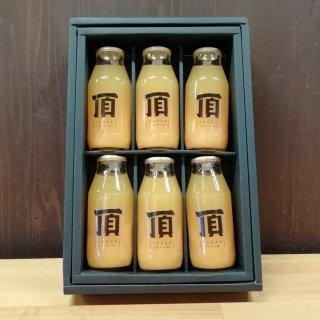 頂‐みかん‐プレミアム小瓶6本セット180ml×6【三代目みかん職人】