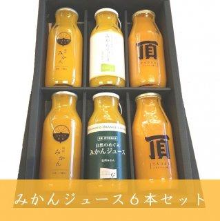 みかんジュース小瓶6本セット【今月のおすすめ】