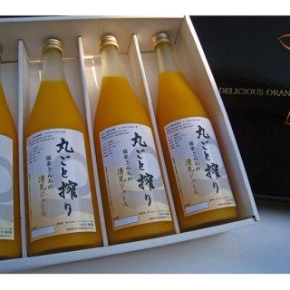 国安さんちの愛媛柑橘果汁100%ジュース 720ml 4本セット