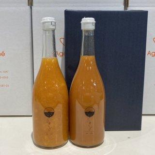 ブラッドオレンジジュース2本セット 720ml×2【じゅらす農房】