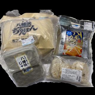 【冷凍】八幡浜ちゃんぽん・じゃこ天・じゃこカツ・ハモカツセット