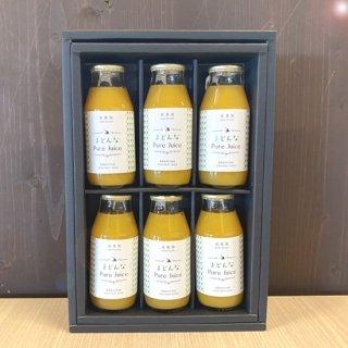 Pure Juice(まどんな)小瓶6本セット 180ml×6【森農園】