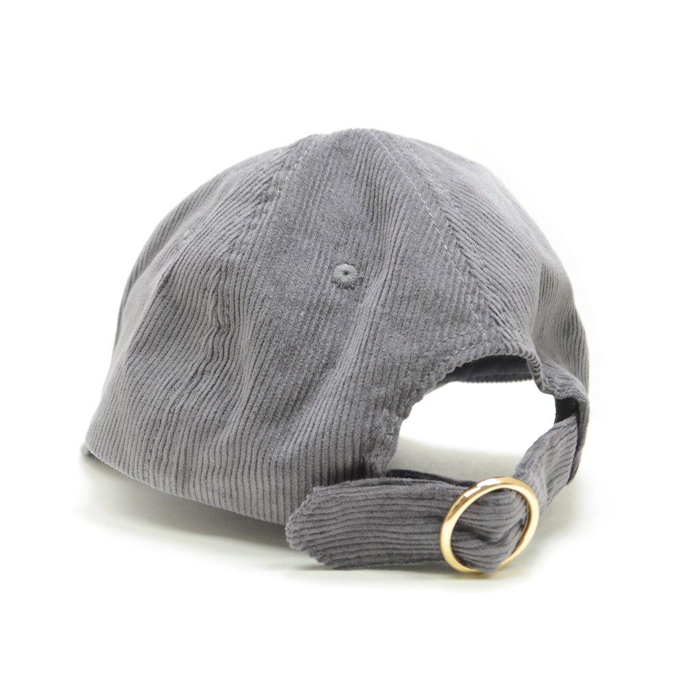 コーデュロイ刺繍キャップ(フェイス)SPBAP492 SB