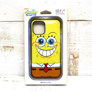 スポンジボブ IIIIfit iPhone 11Pro 対応ケース(フェイス)SB-70A SB
