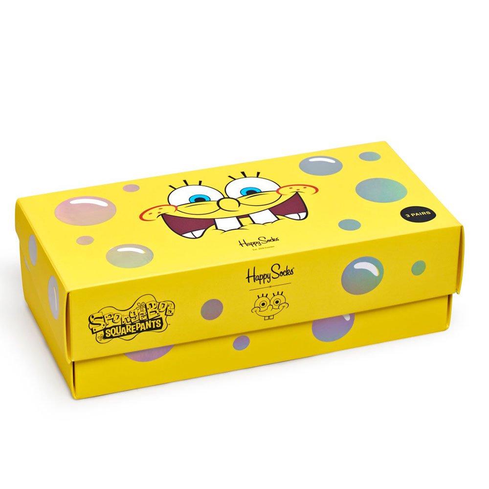 ★Happy Socksコラボ★ソックス3PギフトBOX 11443006 SB