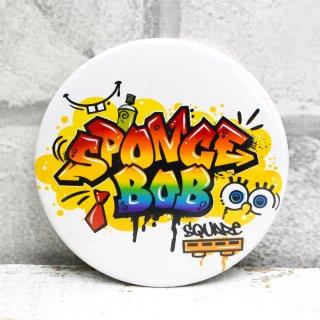 スポンジボブ 缶バッジ76mm (SPONGE BOB) SPO-009 SB